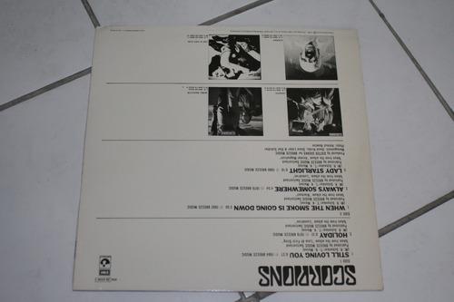 vinilo gold balladsep scorpions1984