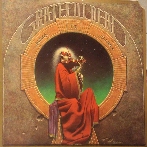 vinilo grateful dead - blues for allah (original)