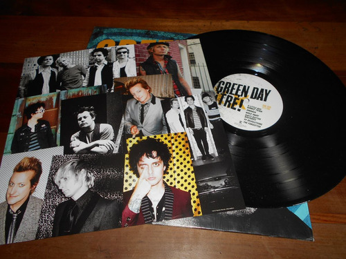 vinilo green day  ¡tre!