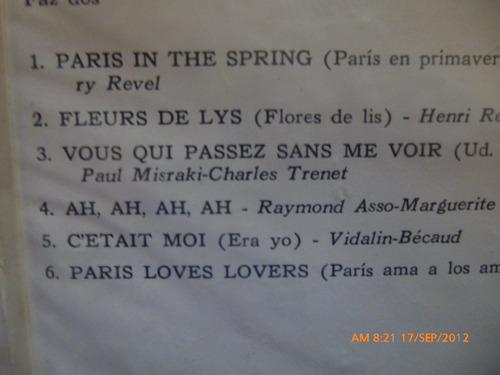 vinilo henri rene paris ama a los amantes (806)