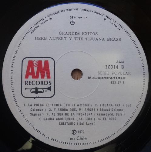 vinilo herb alpert - grandes exitos  -  1970 am records