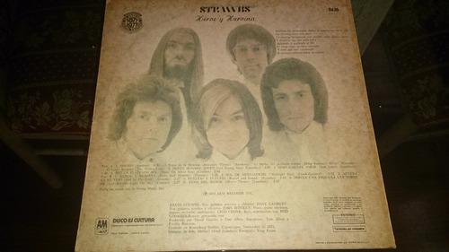 vinilo - héroe y heroína - strawbs - rock - como nuevo