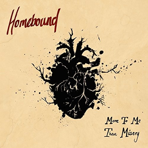 vinilo : homebound - more to me than misery (red)