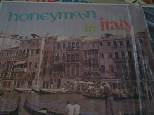 vinilo honeymoon in italy  (800)