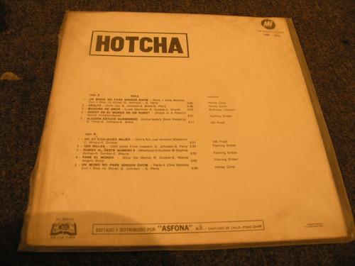 vinilo hotcha lp 1972
