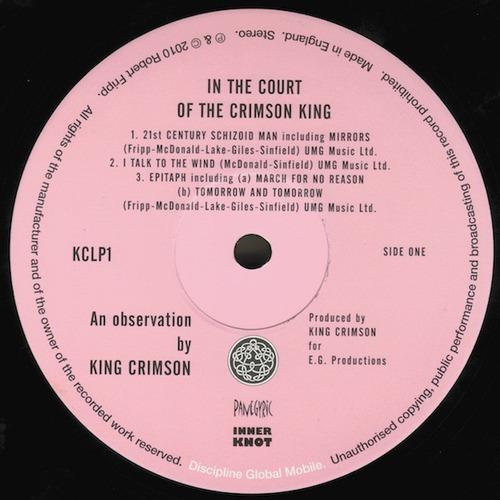 vinilo in the court of the crimson king nuevo sellado