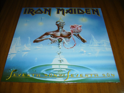 vinilo iron maiden / seventh son of...(sellado) made in eu