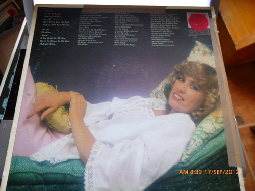 vinilo  janie fricke  -sleeping with your memory  (193)