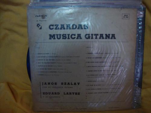 vinilo janos szalay eduard larysz musica gitana czardas p3