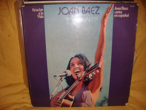 vinilo joan baez en español gracias a la vida p2