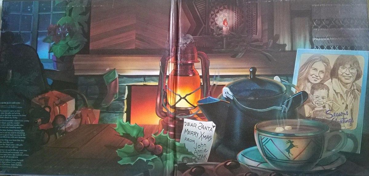 Vinilo John Denver Rocky Mountain Christmas - $ 14.000 en Mercado Libre
