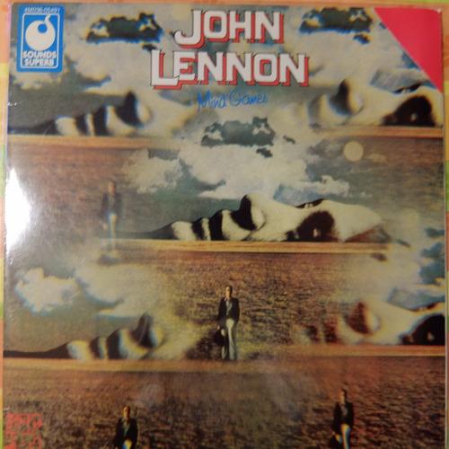 vinilo john lennon    mind games