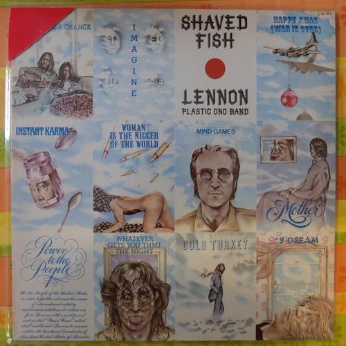 vinilo john lennon  plastic ono band shaved fish