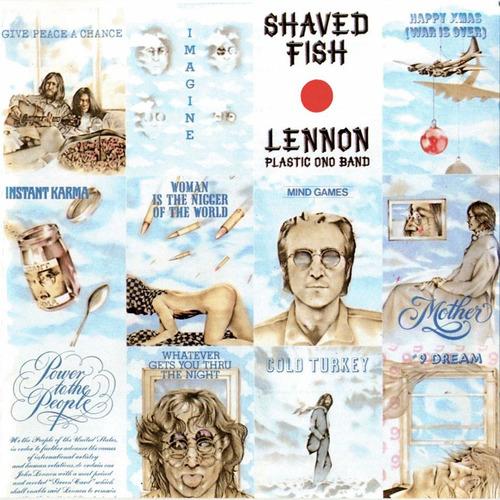 vinilo - john lennon - shaved fish