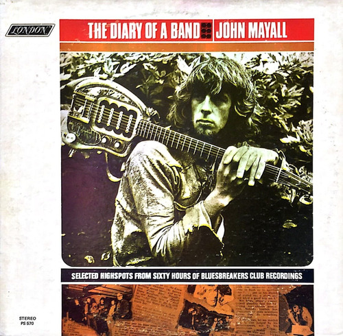 vinilo john mayall - the diary of a band