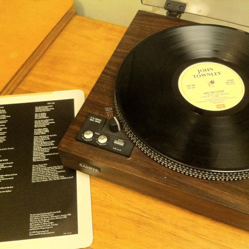 vinilo john townley more than a dream 1981 pop rock inglés
