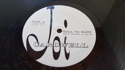 vinilo joi cardwell soul to bare