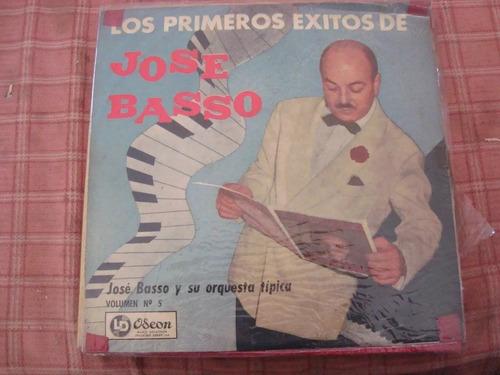 vinilo josé basso primeros éxitos tangos lp disco