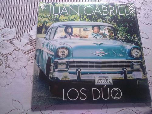 vinilo juan gabriel  los duos 2  . disco doble nuevo