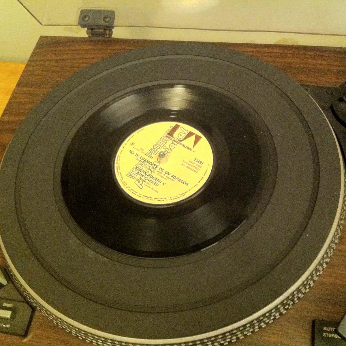 Vinilo Kenny Rogers Y Kim Carnes Single 1980 Country Folk ...