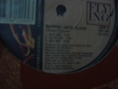 vinilo k.g.m. rappin jack flash mad house mi fly ing records