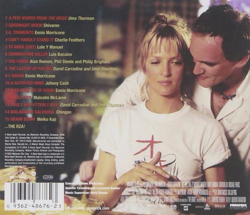 vinilo kill bill 2 original soundtrack nuevo sellado