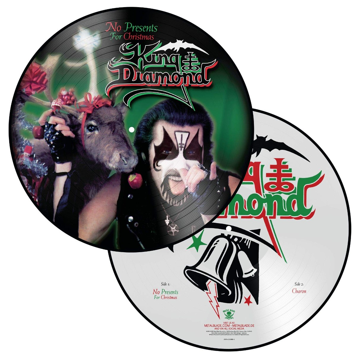 Vinilo : King Diamond - No Presents For Christmas (lp Vinyl ...