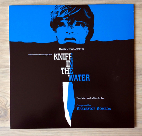 vinilo krzysztof komeda - knife in the water / two men and