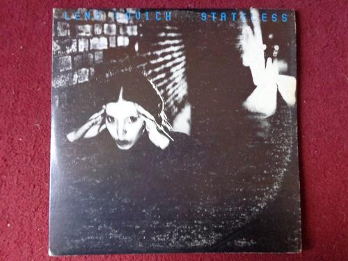 vinilo lene lovich stateless 1982 punk postpunk new wave