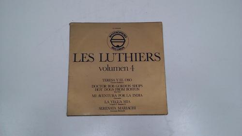 vinilo - les luthiers, conjunto de instrumentos informales 4