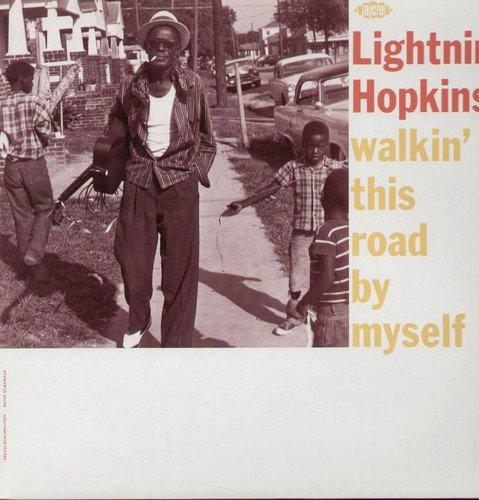 vinilo : lightnin' hopkins - walkin' this road by myself...