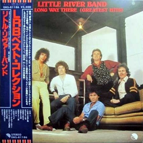 vinilo little river band - greatest hits ed japonesa obi
