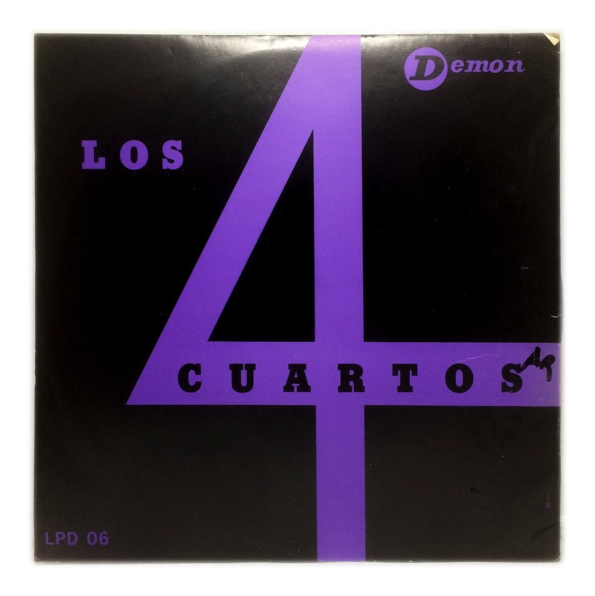 Vinilo Los Cuatro Cuartos Los 4 Cuartos Lp Chile 1964 - $ 465,00