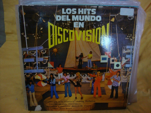 vinilo los hits del mundo en discovision hallyday caceres
