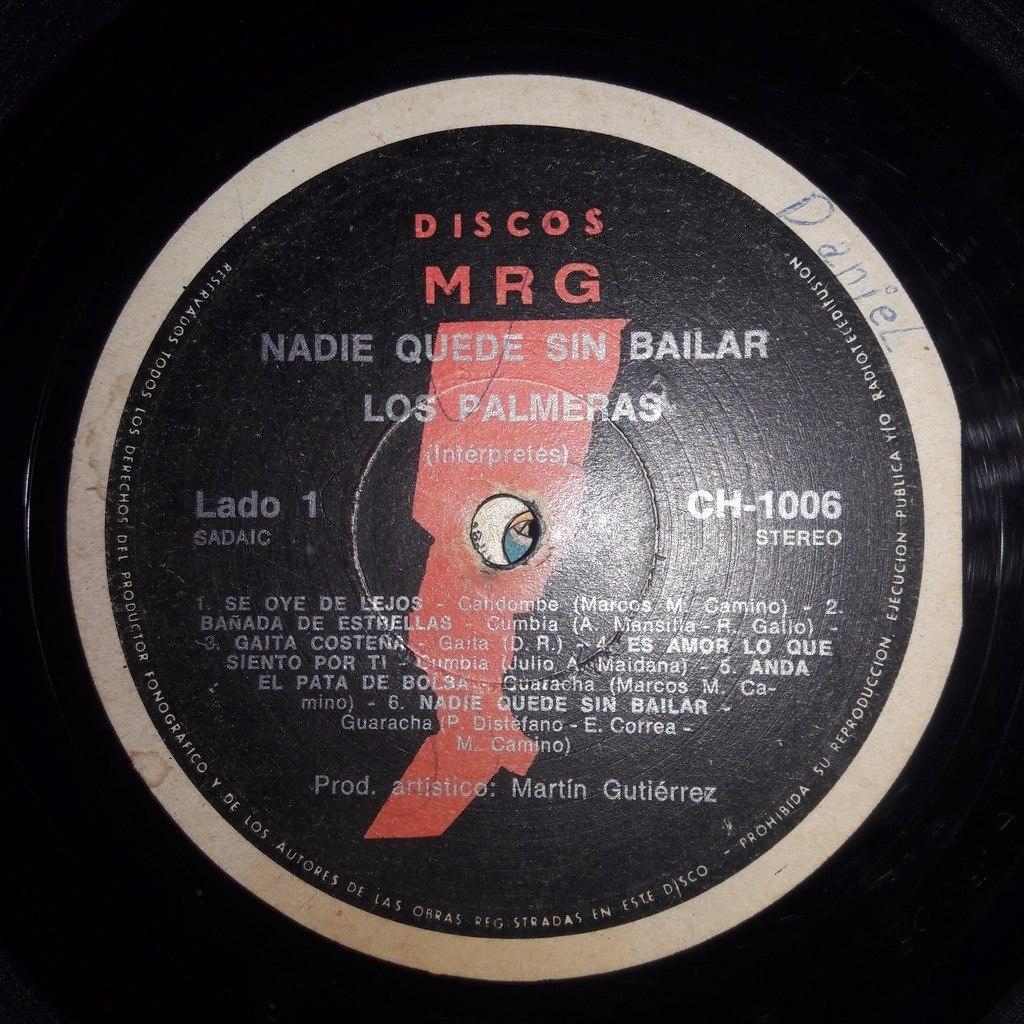 Vinilo Los Palmeras Nadie Quede Sin Bailar Rr P3 - $ 1.880,00 en ...