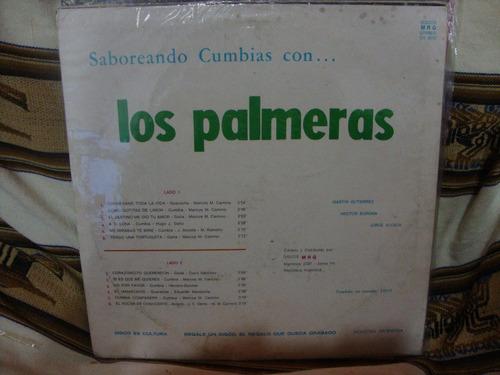 vinilo los palmeras saboreando cumbias ss p2