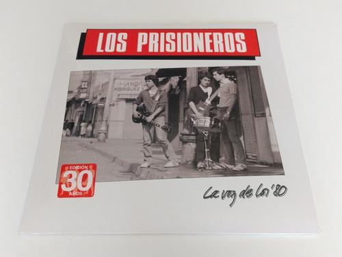 vinilo los prisioneros / la voz de los 80's reedicion