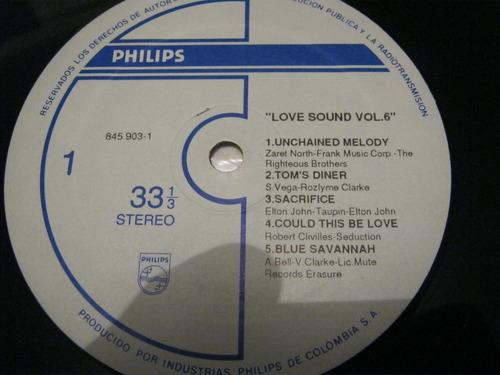 vinilo love sound vol-6--ljp