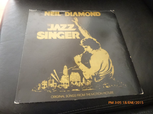vinilo lp 12 neil diamond  l .oliver jazz singer (1145