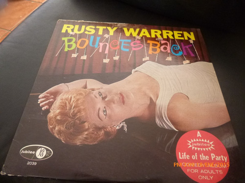 vinilo lp 12 rusty warren -- bounces bac (u973