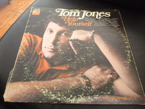vinilo lp 12 tom jones -help yourself (u967