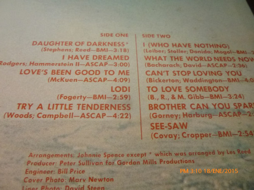 vinilo lp 12 tom jones -who have nothing (u968