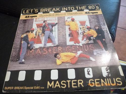 vinilo lp  a master genius  let's   break into the 80 (960)