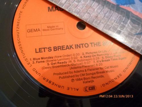 vinilo lp  a master genius  let's   break into the 80 (u1157