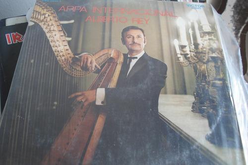 vinilo lp alberto rey arpa internacional chileno