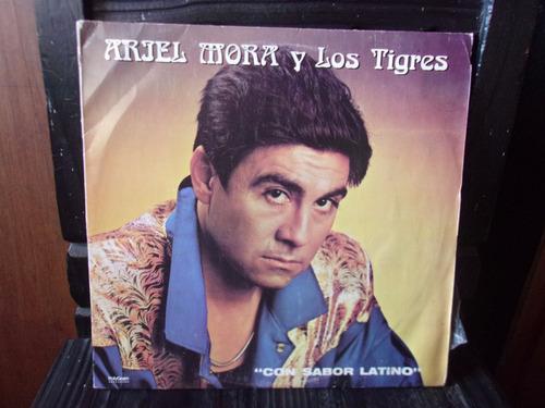 vinilo lp ariel morales y los tigres con sabor latino