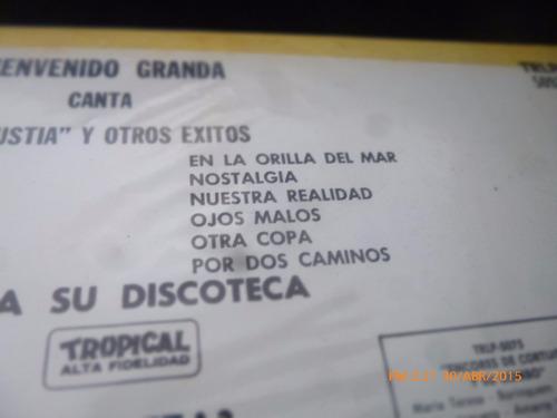vinilo lp bienvenido granada granada con la sonora m (1191