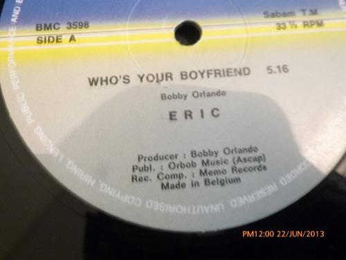 vinilo lp bobby orlando  eric  who's your boyfriend (u436