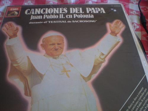 vinilo  lp canciones del papa juan pablo ii  polonia (34