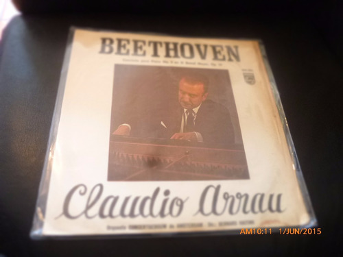 vinilo lp claudio arrau --beethoven  (1284